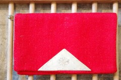 40'S~ CHIMAYO PURSE (RED)