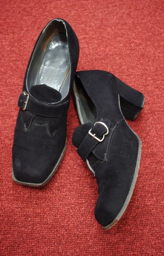 40s suede shoes