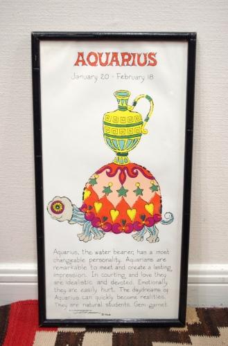 margot johnson aquarius poster