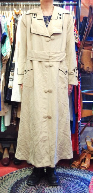 10s~20s duster coat