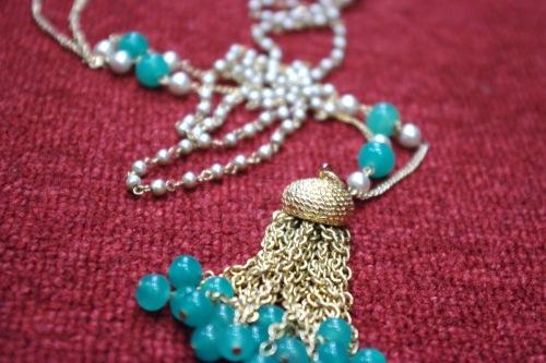 vintage long necklace