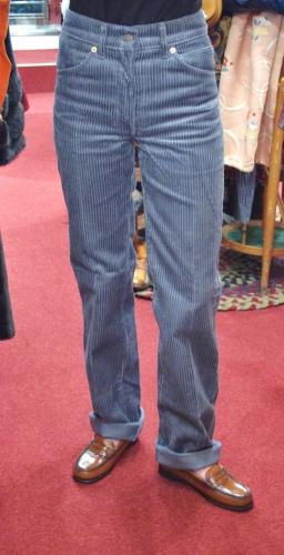 DEAD STOCK 80'S~ LEVI'S CORDUROY PANTS STRAIGHT(B.GRY)