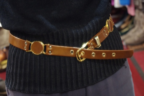 dead stock 80s belt