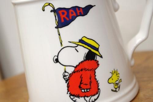 vintage snoopy mug