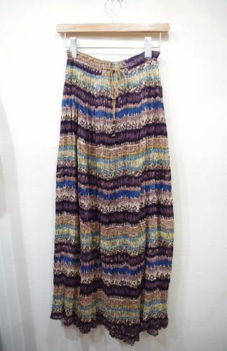 india cotton maxi skirt