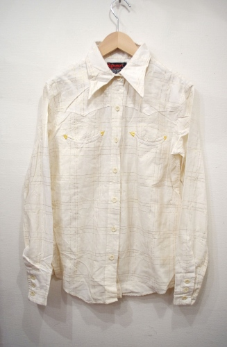 deadstock 70's india cotton shirts