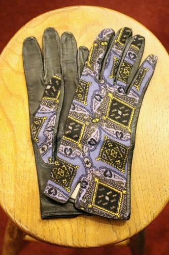 vintage bag & glove